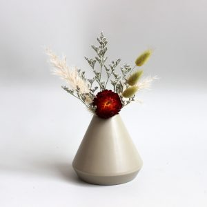 Greeny Piramid Vase