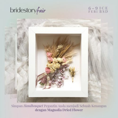 Magnolia Dried Flower - Bridestory Fair